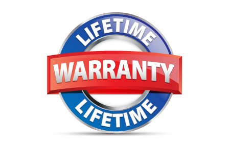 lifetime warranty seal